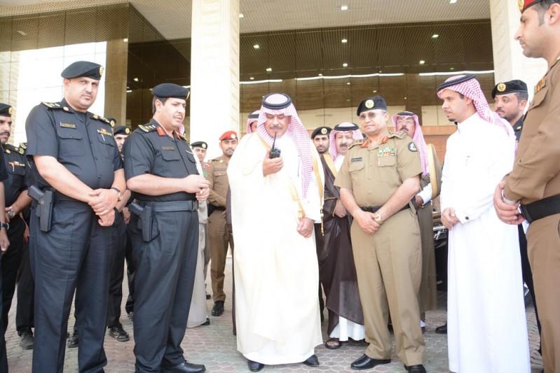 أمير الباحة يطلق الهوية الجديدة للدوريات الأمنية
