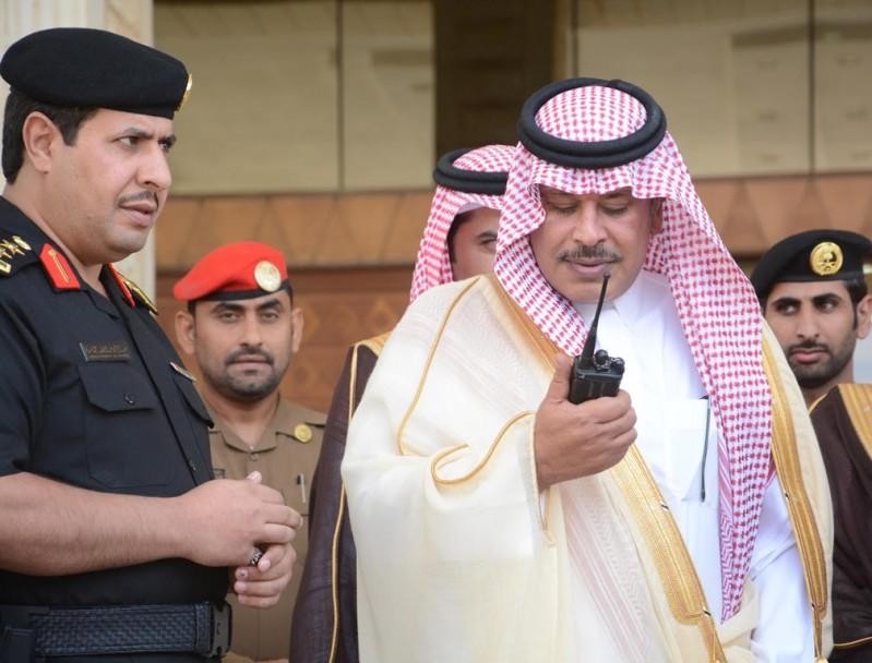 أمير الباحة يطلق الهوية الجديدة للدوريات الأمنية 9