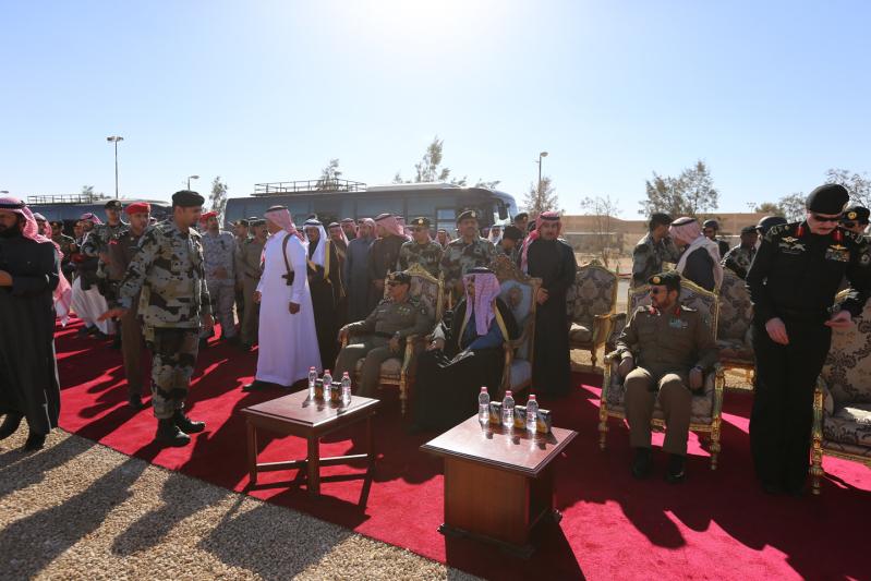أمير الجوف يرعى حفل قوات الطوارى 13