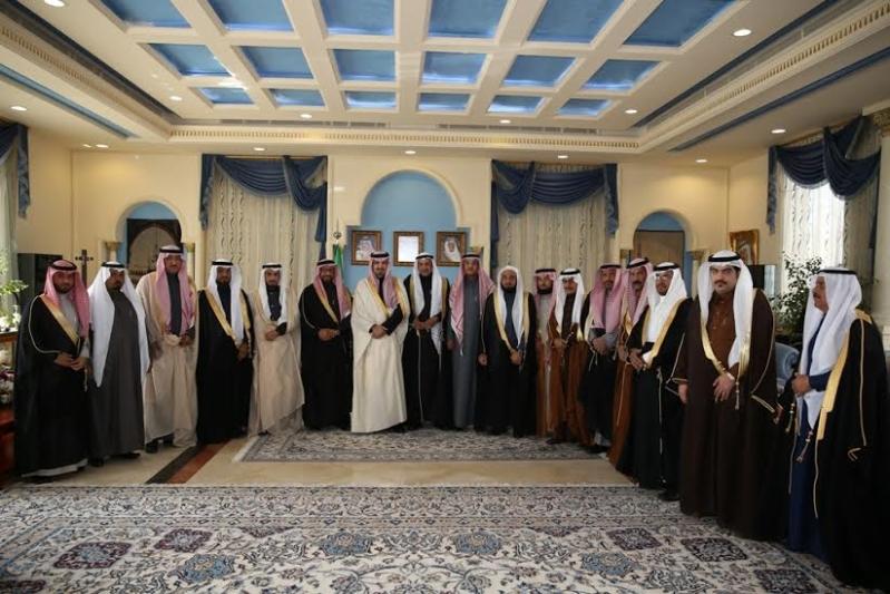 أمير الجوف يستقبل أعضاء المجلس البلدي2