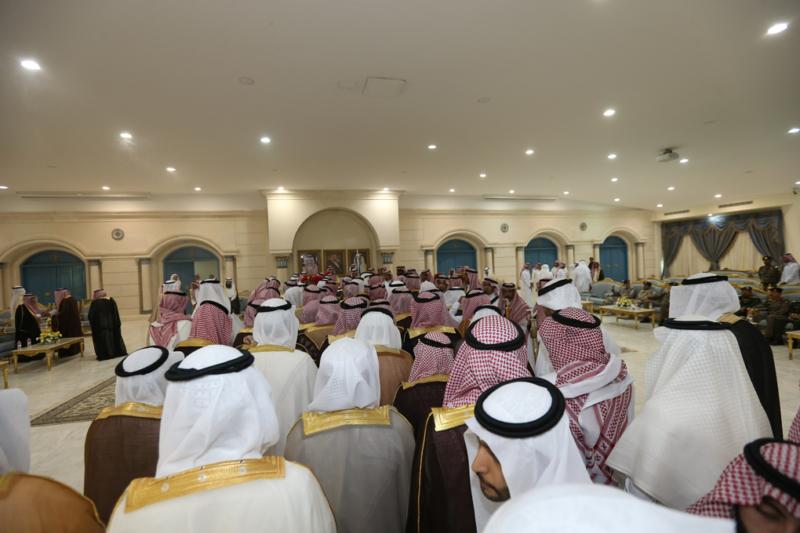 أمير الجوف يستقبل المواطنين والمسؤولين (1) 