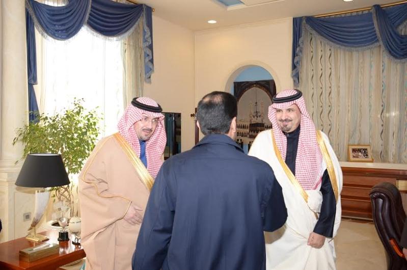 أمير الجوف يستقبل مديري معاهد الشركات الإستراتيجية بالمملكة