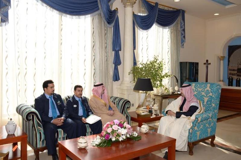 أمير الجوف يستقبل مديري معاهد الشركات الإستراتيجية بالمملكة1