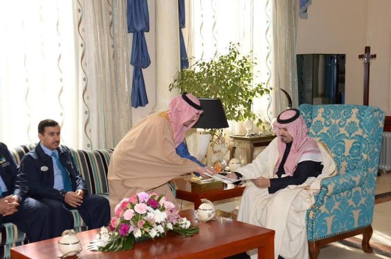 أمير الجوف يستقبل مديري معاهد الشركات الإستراتيجية بالمملكة2