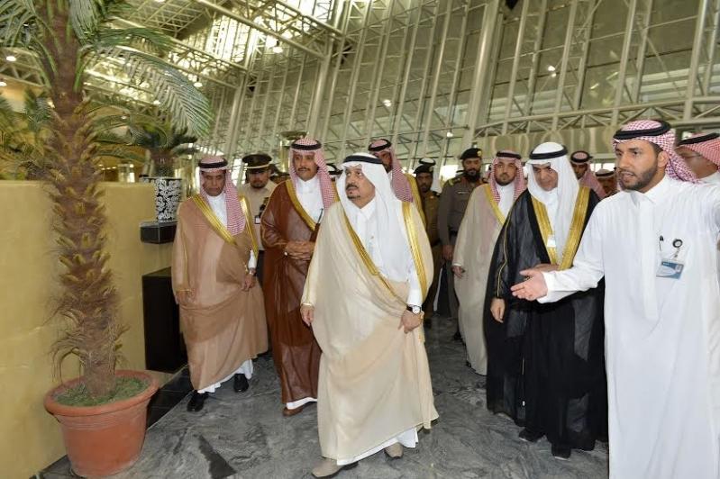 أمير الرياض من محطة المجمعة
