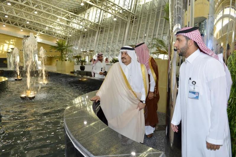 أمير الرياض من محطة المجمعة1