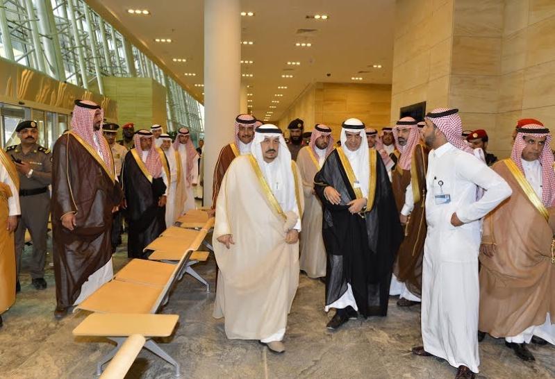 أمير الرياض من محطة المجمعة5