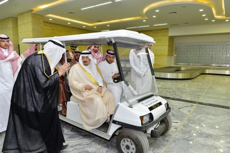 أمير الرياض من محطة المجمعة8