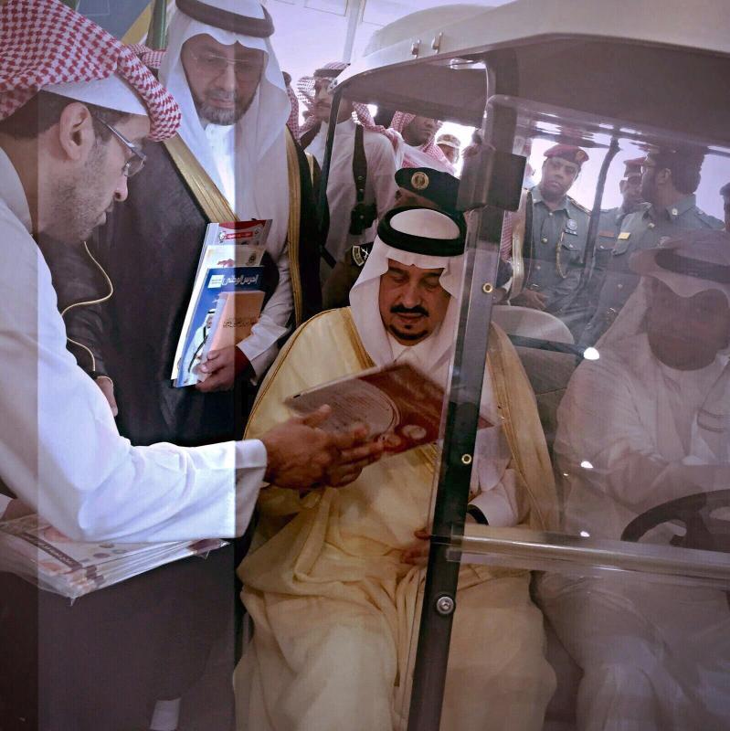 أمير الرياض يثني على مشاركة صحة الرياض في اسبوع المرور الخليجي