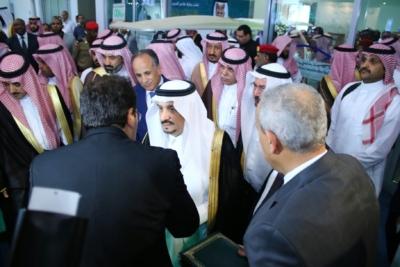 أمير #الرياض يدشن المعرض التجاري الـ15 للدول الإسلامية بمشاركة 29 دولة (5)