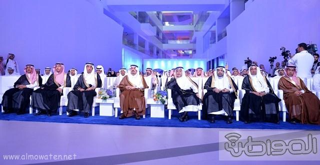 أمير الرياض يرعى مشروع شركة سابك موطن الابتكار (1)