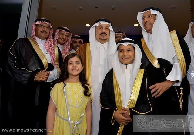 أمير الرياض يرعى مشروع شركة سابك موطن الابتكار (15)