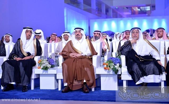 أمير الرياض يرعى مشروع شركة سابك موطن الابتكار (2)