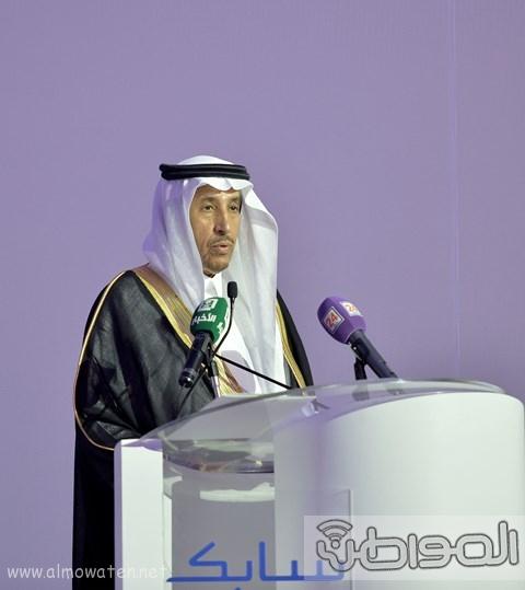 أمير الرياض يرعى مشروع شركة سابك موطن الابتكار (3)