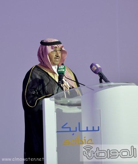 أمير الرياض يرعى مشروع شركة سابك موطن الابتكار (4)