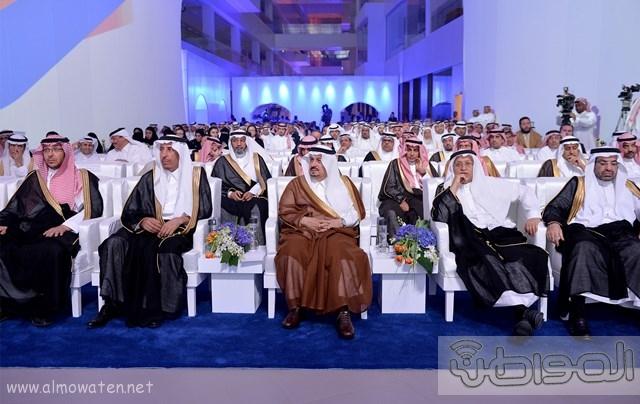 أمير الرياض يرعى مشروع شركة سابك موطن الابتكار (5)