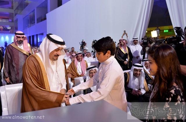 أمير الرياض يرعى مشروع شركة سابك موطن الابتكار (7)