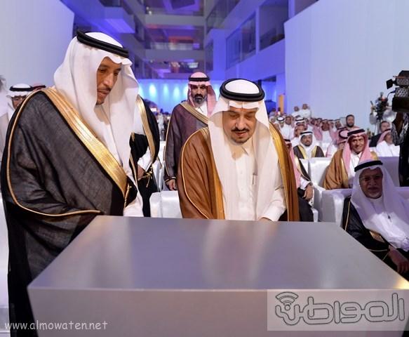 أمير الرياض يرعى مشروع شركة سابك موطن الابتكار (8)