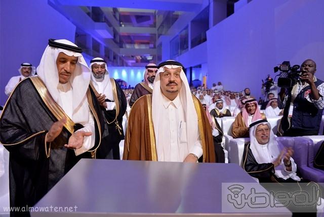 أمير الرياض يرعى مشروع شركة سابك موطن الابتكار (9)