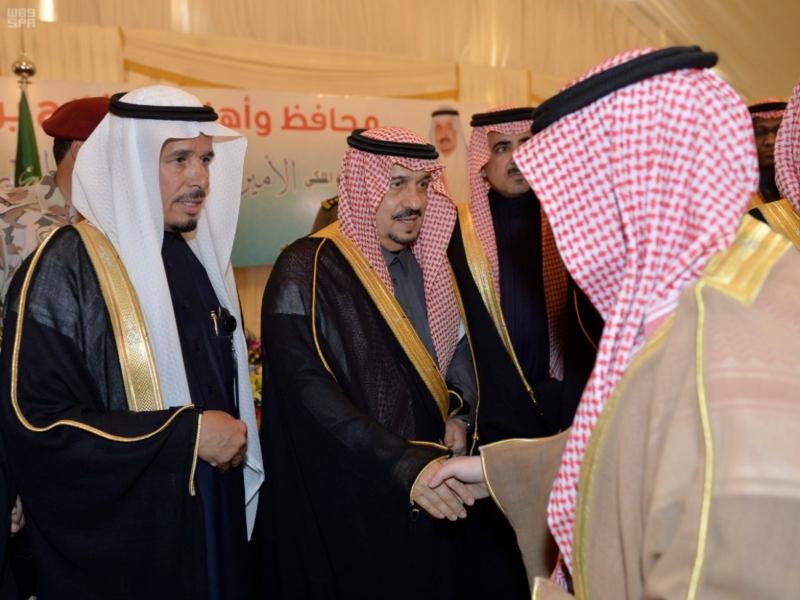 أمير الرياض يزور محافظة الافلاج