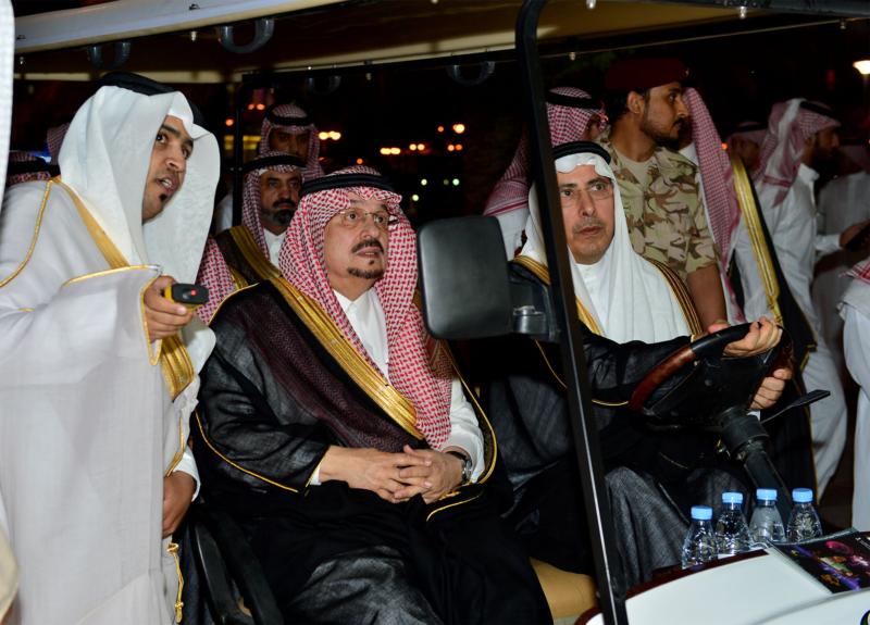 أمير الرياض  يشارك في احتفالات العيد   (371967816) 