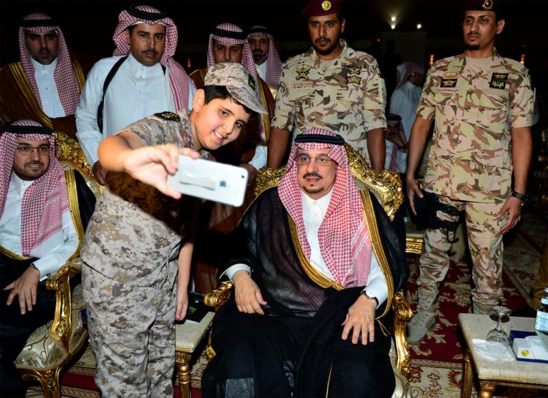 أمير الرياض  يشارك في احتفالات العيد   (371967825) 