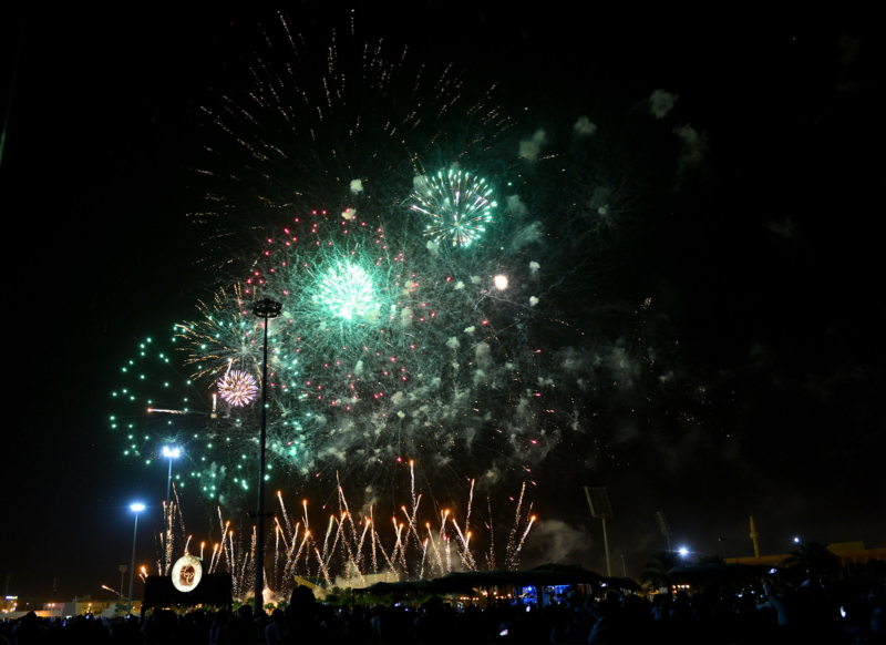 أمير الرياض  يشارك في احتفالات العيد   (371967832) 