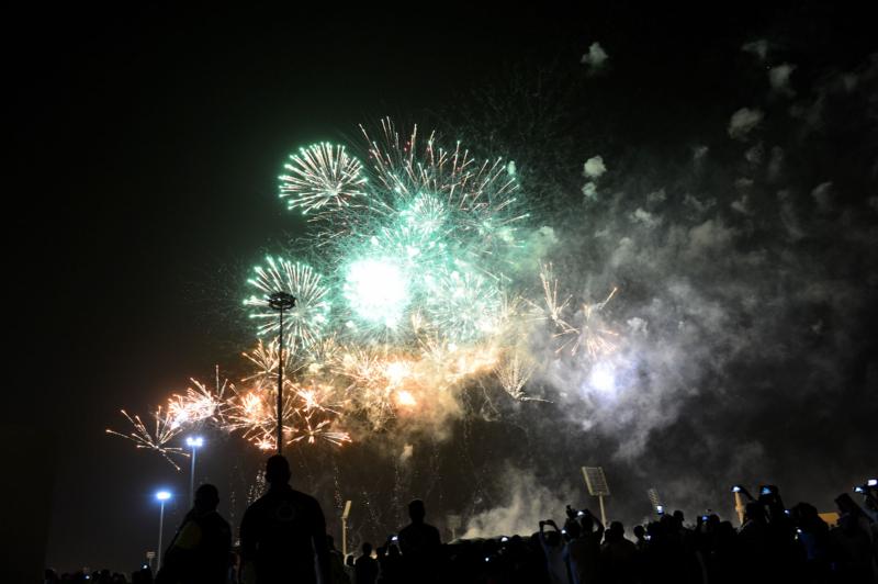 أمير الرياض  يشارك في احتفالات العيد   (371967834) 