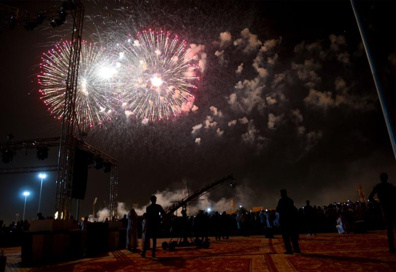 أمير الرياض  يشارك في احتفالات العيد   (371967836) 