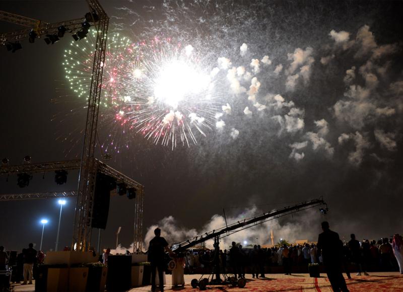 أمير الرياض  يشارك في احتفالات العيد   (371967837) 