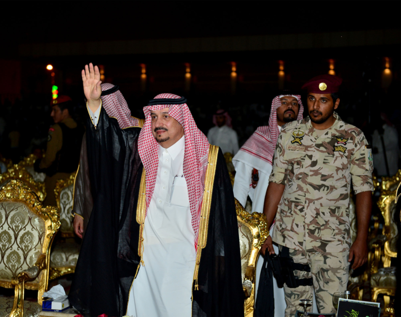 أمير الرياض  يشارك في احتفالات العيد   (371967838) 