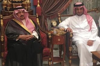 بالصور.. فيصل بن بندر يعزي أسرة البلطان في وفاة ابنهم عبدالله - المواطن
