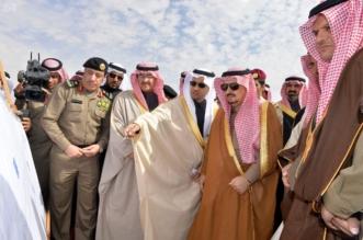 أمير الرياض يفتتح مشروع جسر سلطانة4