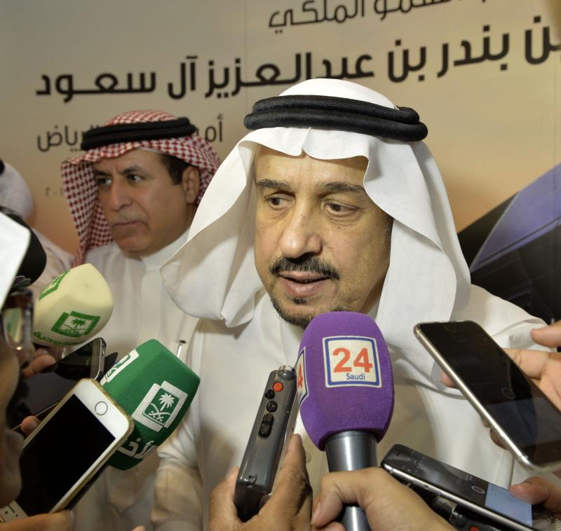 أمير الرياض يقوم برحلة عبر قطار الشمال للمجمعة ويزور المحطات (34669067) 