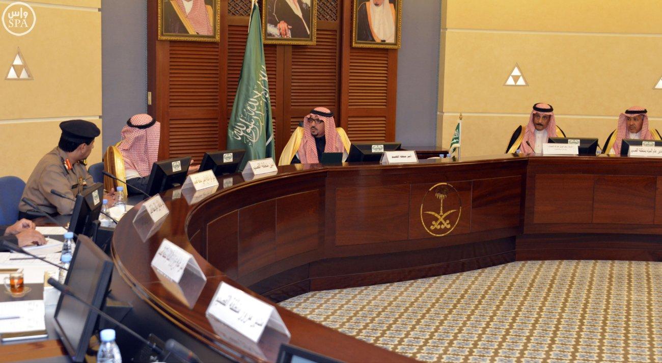 أمير القصيم معاتبًا المجلس البلدي لم تكونوا بقدر المسؤولية (1)