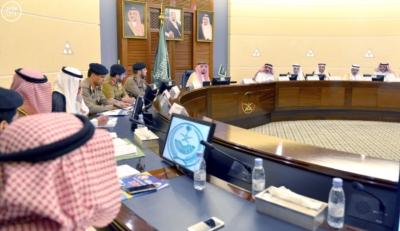 أمير القصيم يرأس اللجنة العليا للسلامة المرورية2