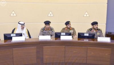 أمير القصيم يرأس اللجنة العليا للسلامة المرورية4
