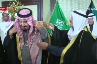 شاهد.. أمير الكويت يُقلد الملك قلادة مبارك الكبير - المواطن
