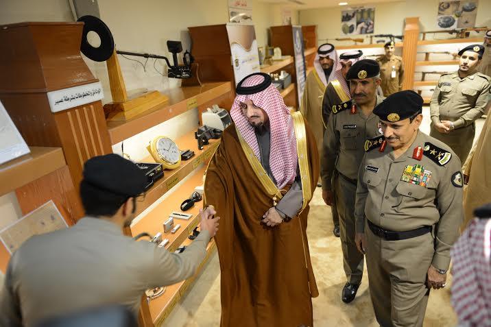 أمير عسير يفتتح مبنى مديرية شرطة المنطقة10