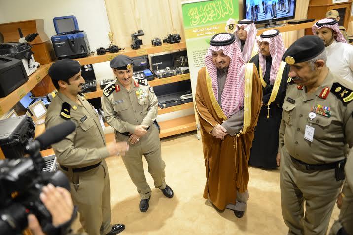 أمير عسير يفتتح مبنى مديرية شرطة المنطقة11