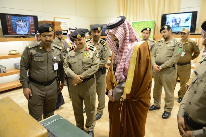 أمير عسير يفتتح مبنى مديرية شرطة المنطقة12