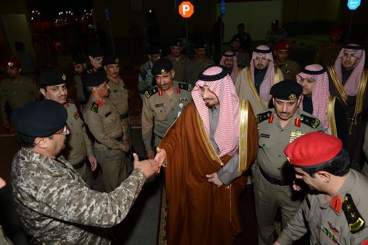 أمير عسير يفتتح مبنى مديرية شرطة المنطقة7