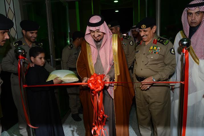 أمير عسير يفتتح مبنى مديرية شرطة المنطقة9