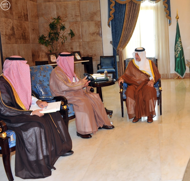 أمير #مكة والحمدان يستعرضان مشروعي مطاري جدة والطاىف