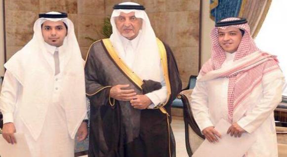 أمير مكة يكرم شابيين