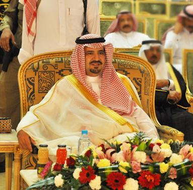 أمير منطقة الجوف فهد بن بدر بن عبدالعزيز