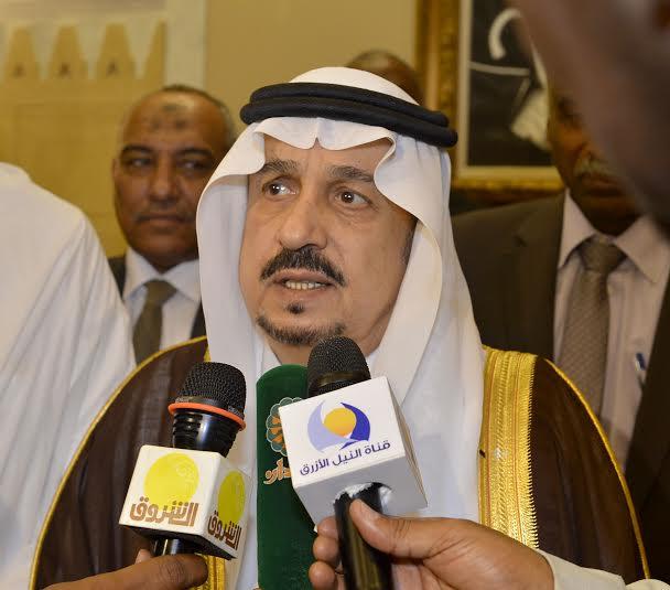 أمير منطقة الرياض يجتمع بوالي ولاية الخرطوم بجمهورية السودان10