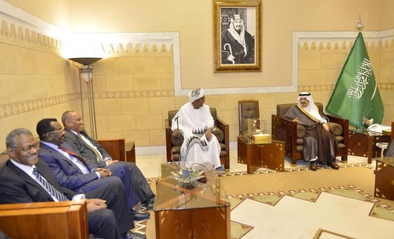 أمير منطقة الرياض يجتمع بوالي ولاية الخرطوم بجمهورية السودان8