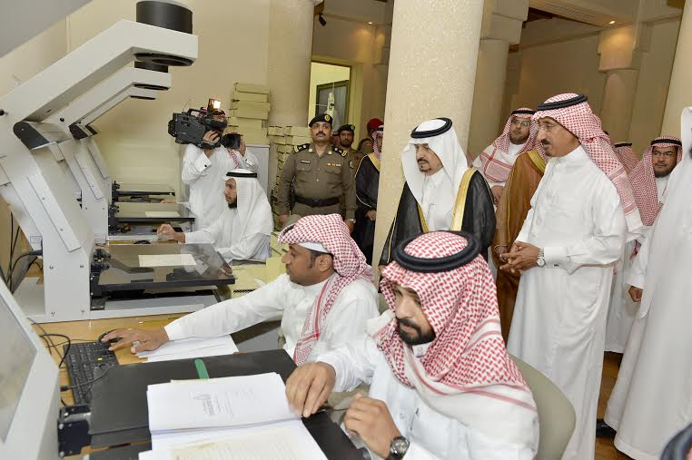 أمير منطقة الرياض يزور دارة الملك عبدالعزيز بمركز الملك عبد العزيز التاريخي بالمربع13