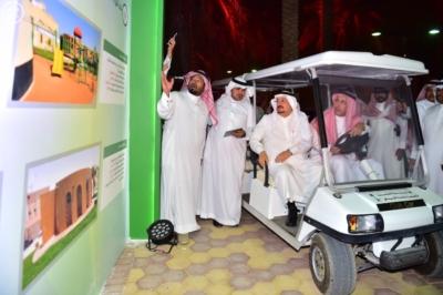 أمير منطقة الرياض يفتتح 10 حدائق في أحياء الرياض11
